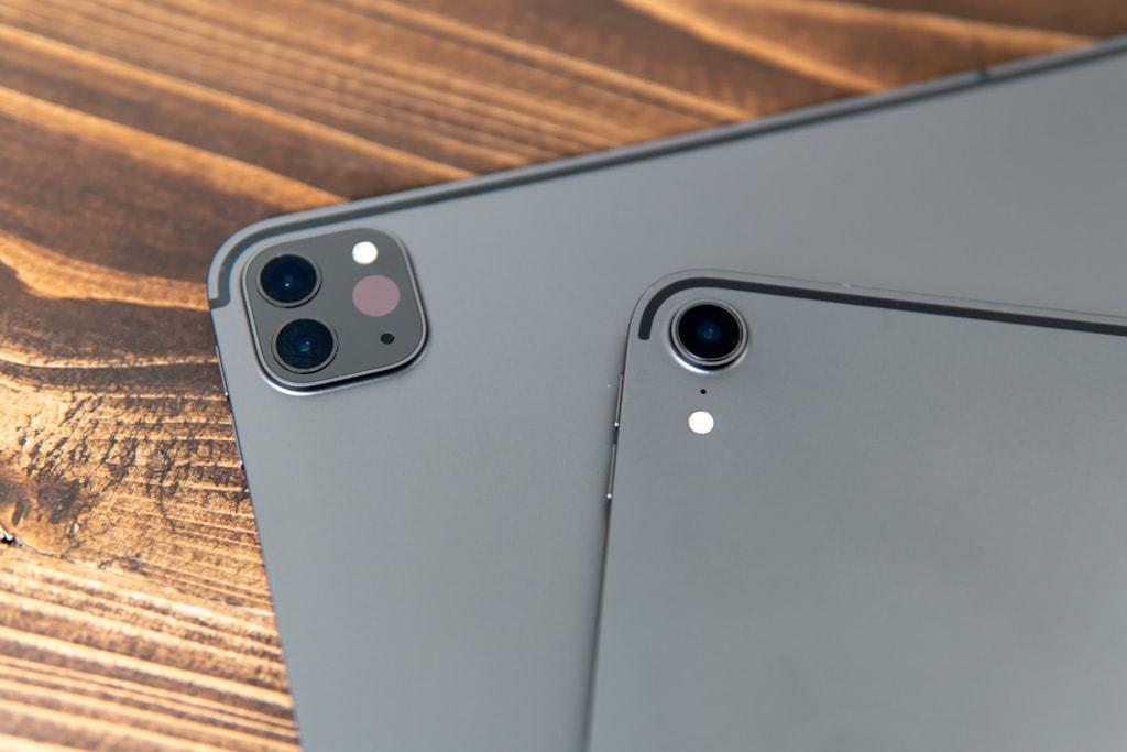 iPad Pro 2020のカメラ部分