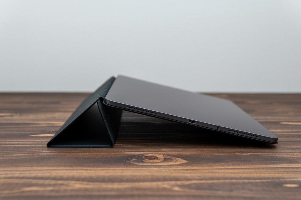 ESR iPad Pro 2020用ケースは35度にもなる