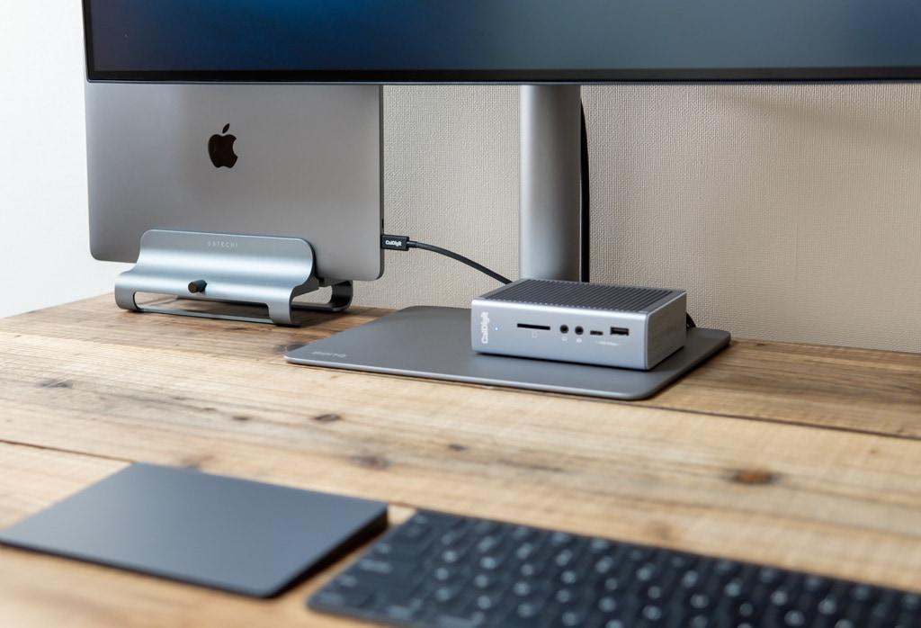 Macにおすすめなドッキングステーション「CalDigit TS3 Plus」