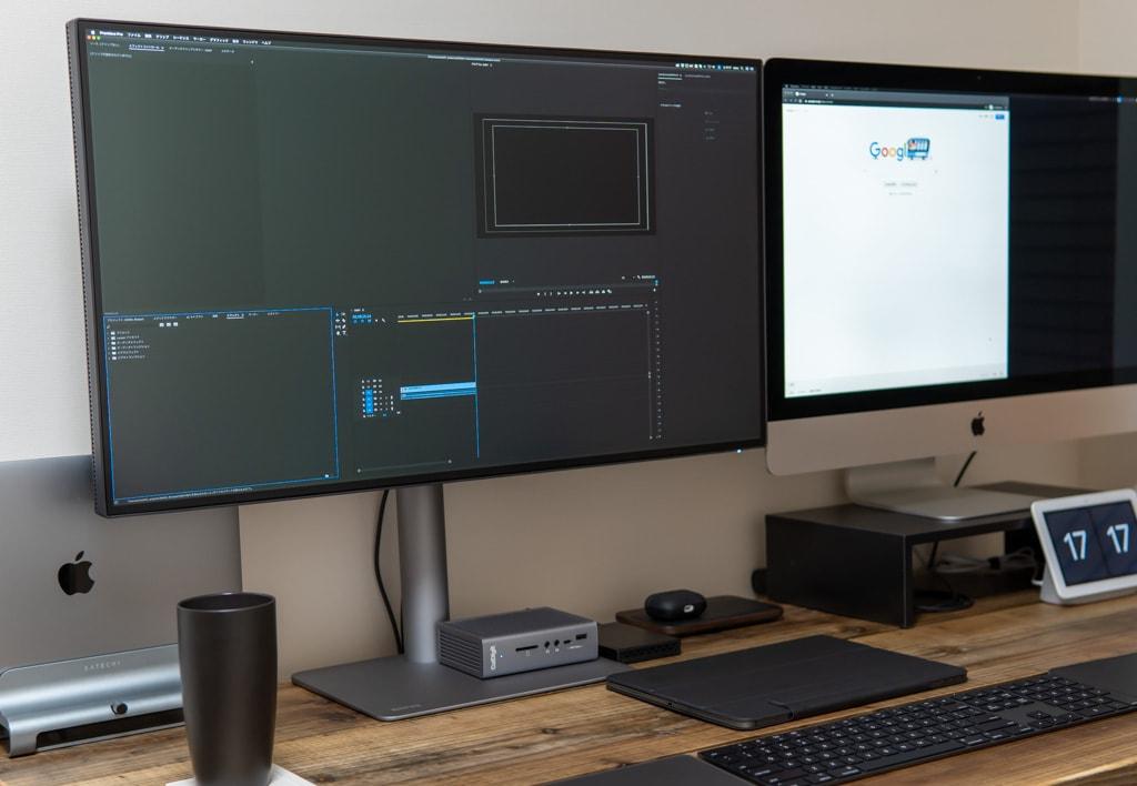 Thunderbolt 3対応でMacBook Proに最適な31.5インチ4Kモニター「BenQ PD3220U」