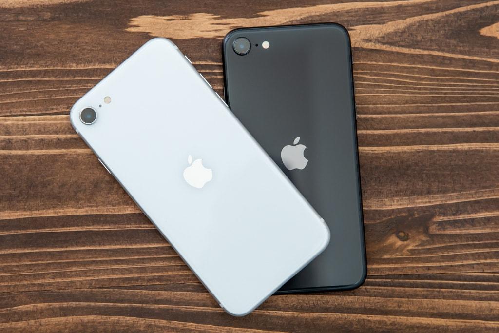 新型iPhone SE(第2世代)はリンゴマークが中央に移動