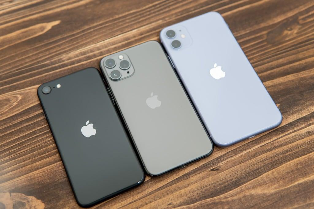 新型iPhone SE(第2世代)とiPhone 11 ProとiPhone 11