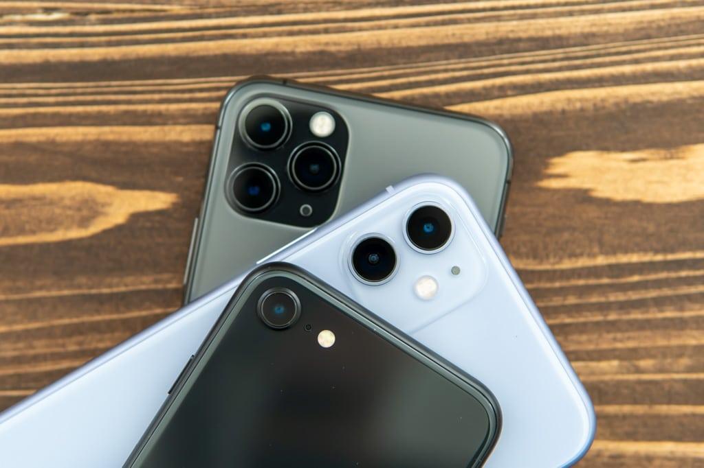 新型iPhone SE(第2世代)とiPhone 11とiPhone 11 Proのカメラ