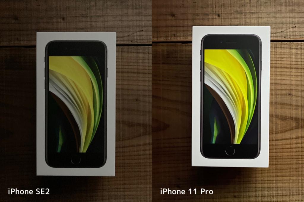 新型iPhone SE(第2世代)にナイトモードはない