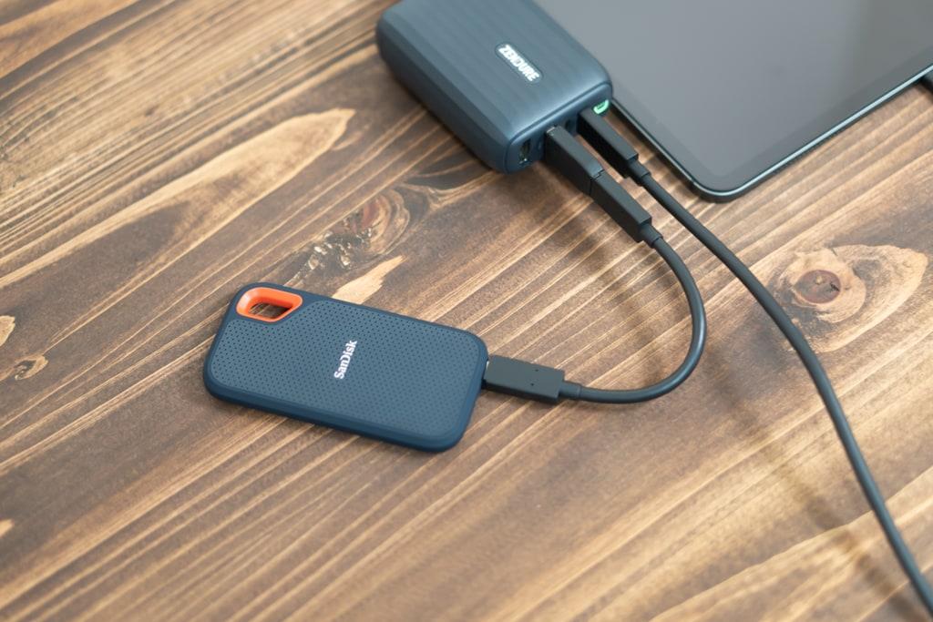 外付けSSDを接続するのに最適なUSB-Aポート