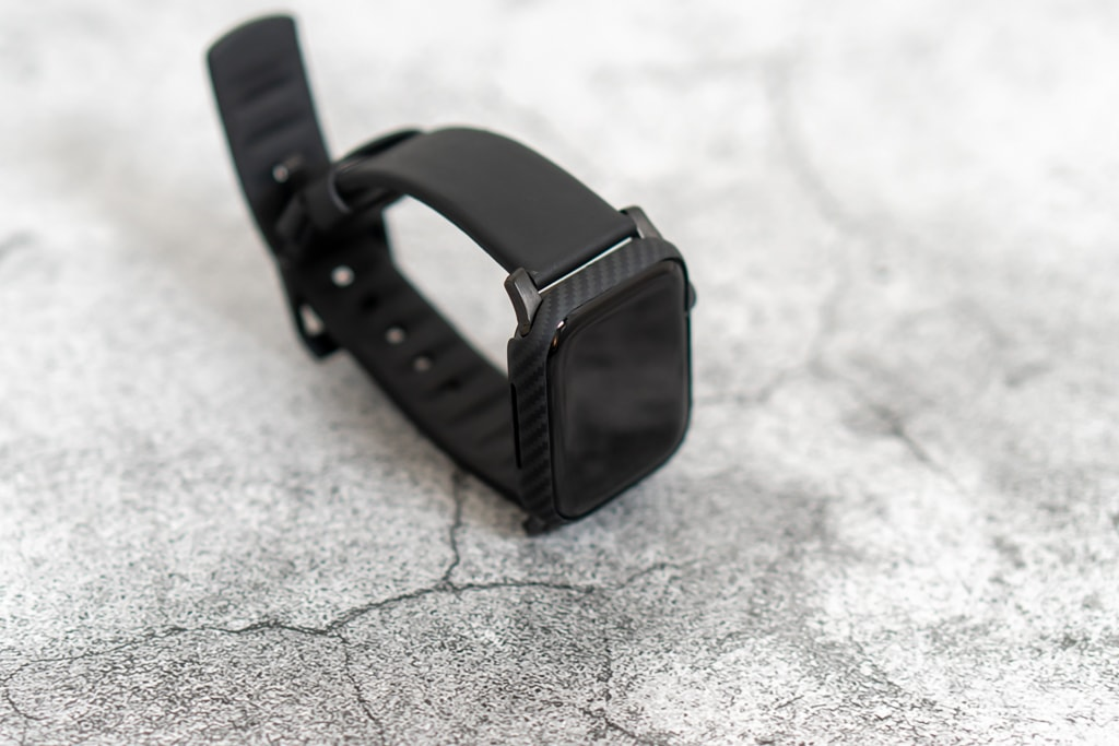 PITAKA Air Case for Apple Watchはジャストフィット
