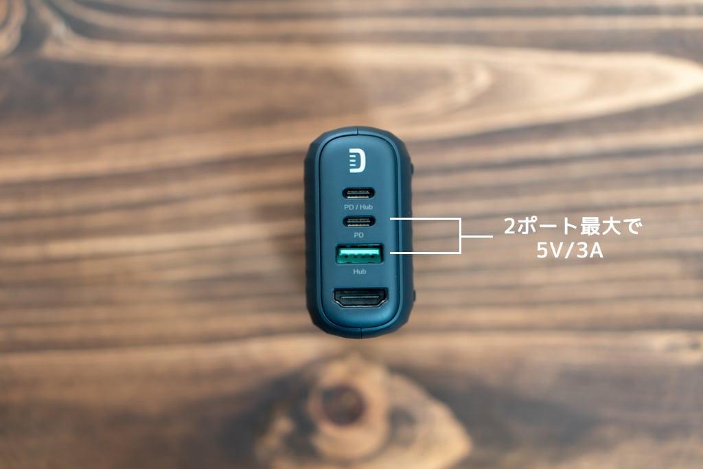 Zendure SuperHub SEの充電出力