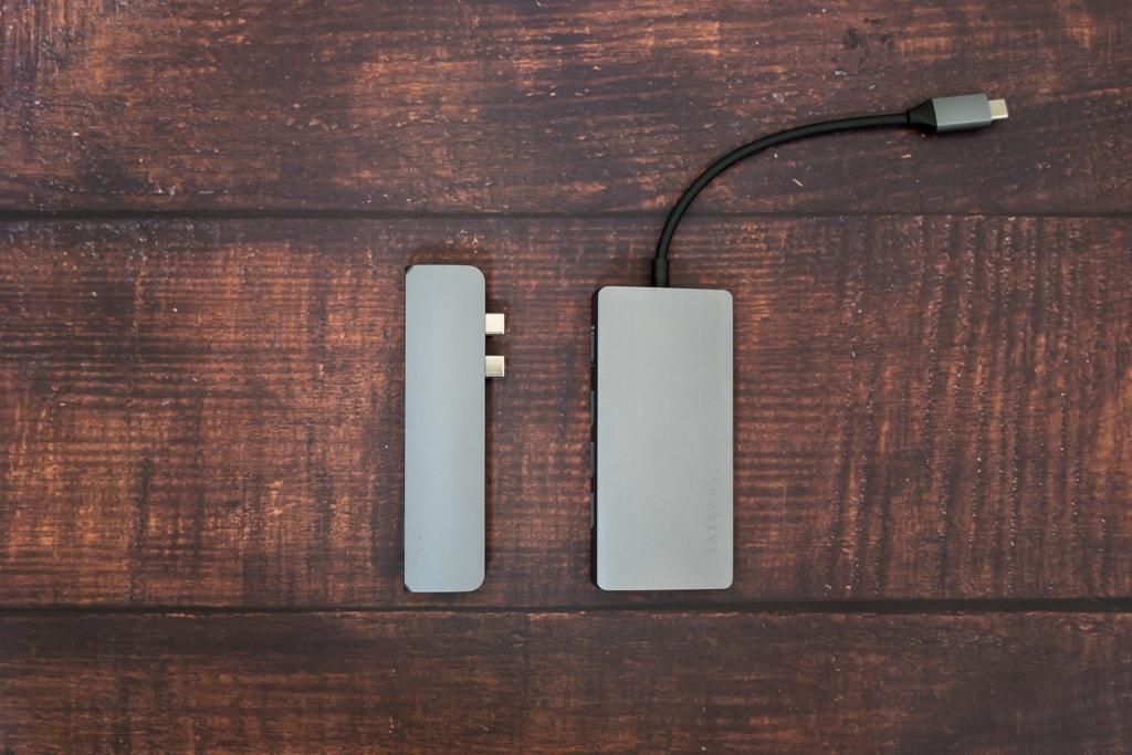 MacBook ProのUSB-Cハブの種類は主に2つ