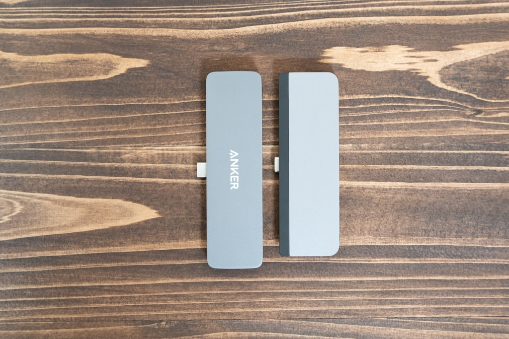 Anker PowerExpand Direct 6-in-1とHyperDrive iPad Pro USB-Cハブ
