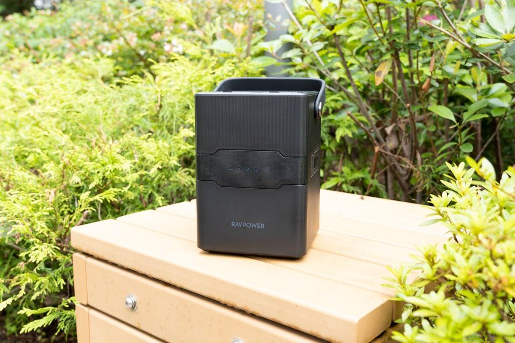 RP-PB187レビュー:アウトドア・非常時にiPhoneやMacを充電!70,200mAhのポータブル電源