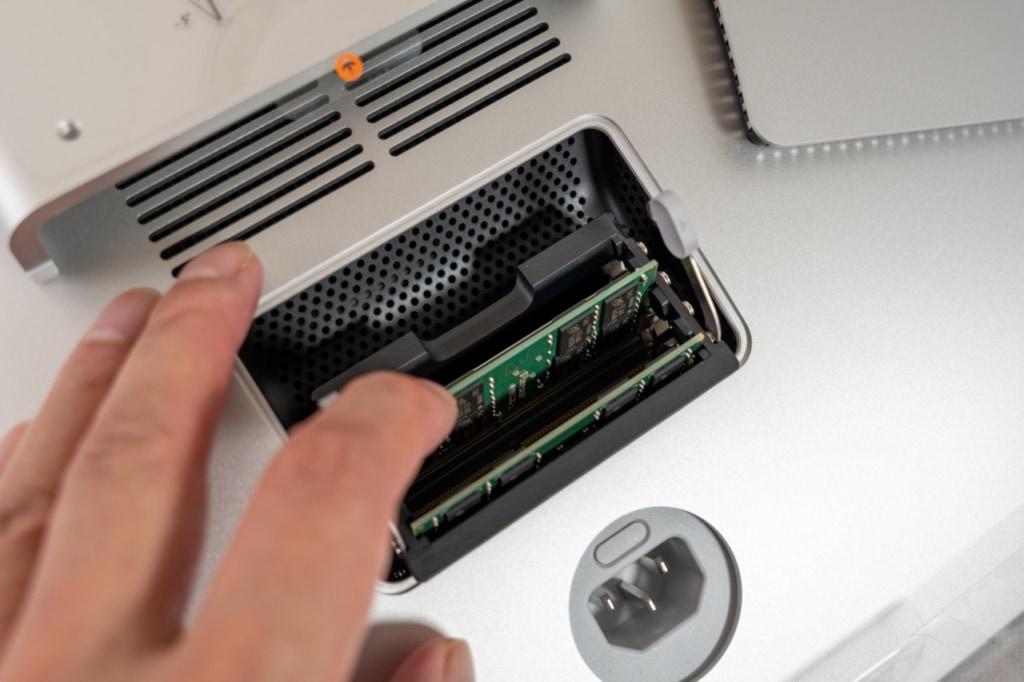 iMac 27インチは自分でメモリ増設が可能