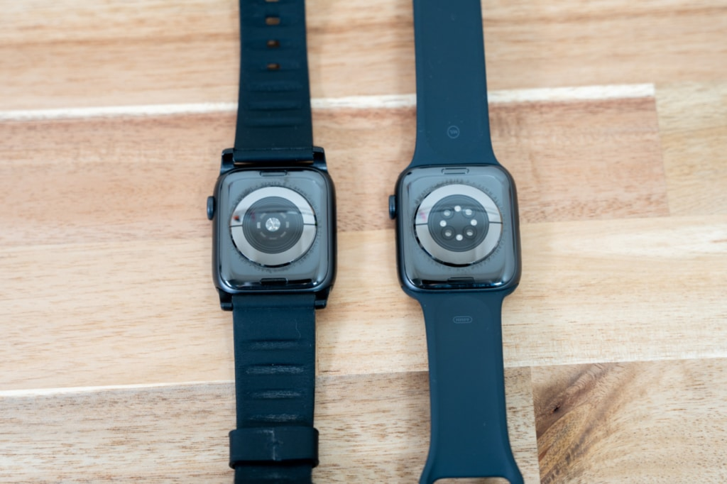 Apple Watch Series 6の裏側