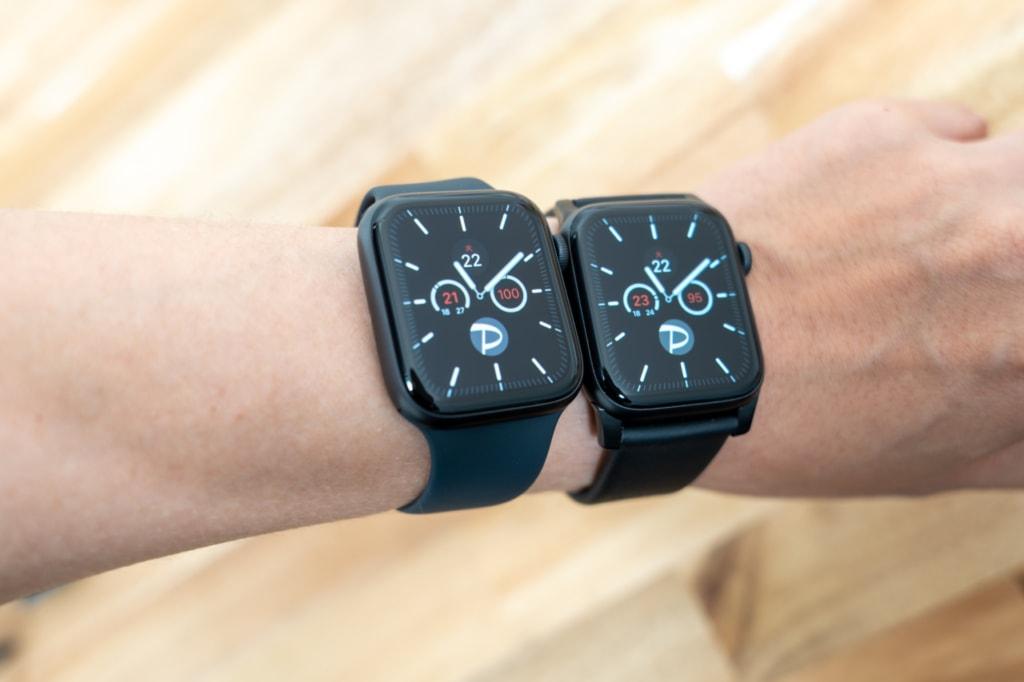 Apple Watch Series 5と6の常時表示