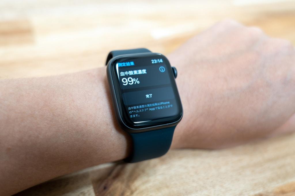 Apple Watch Series 6は血中酸素濃度を測定可能