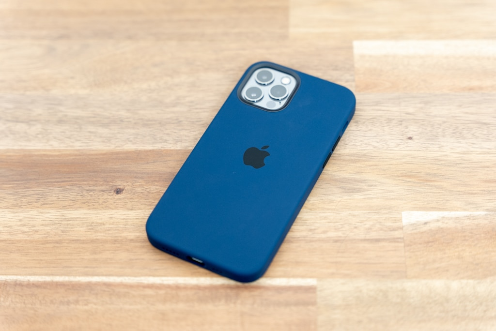 iPhone 12 / iPhone 12 Pro用Apple純正シリコンケース
