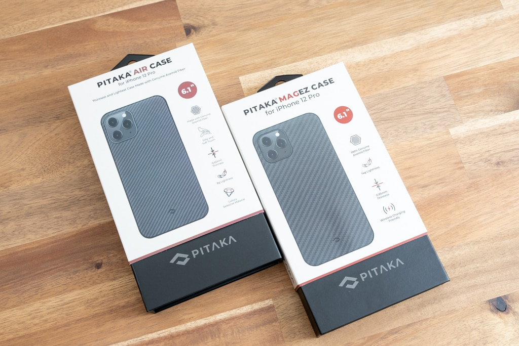 iPhone 12 Pro用PITAKA MagEz Case & Air Case