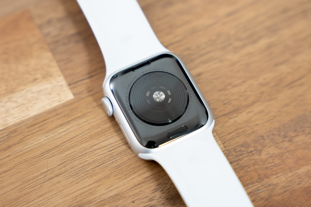 Apple Watch SEの背面