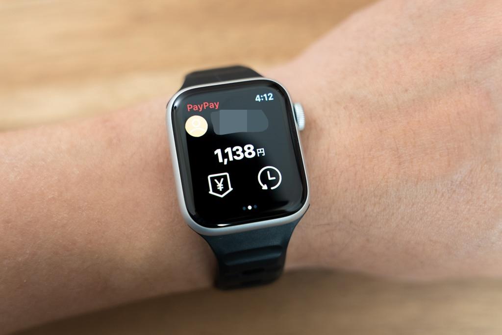 Apple Watchは決済も得意