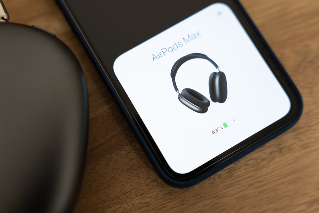 AirPods Maxのバッテリー