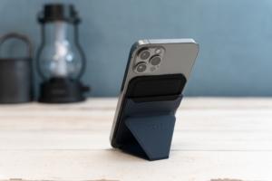 MagSafe対応MOFTレビュー:iPhone 12シリーズに最適化!マグネット装着の多機能スマホスタンド