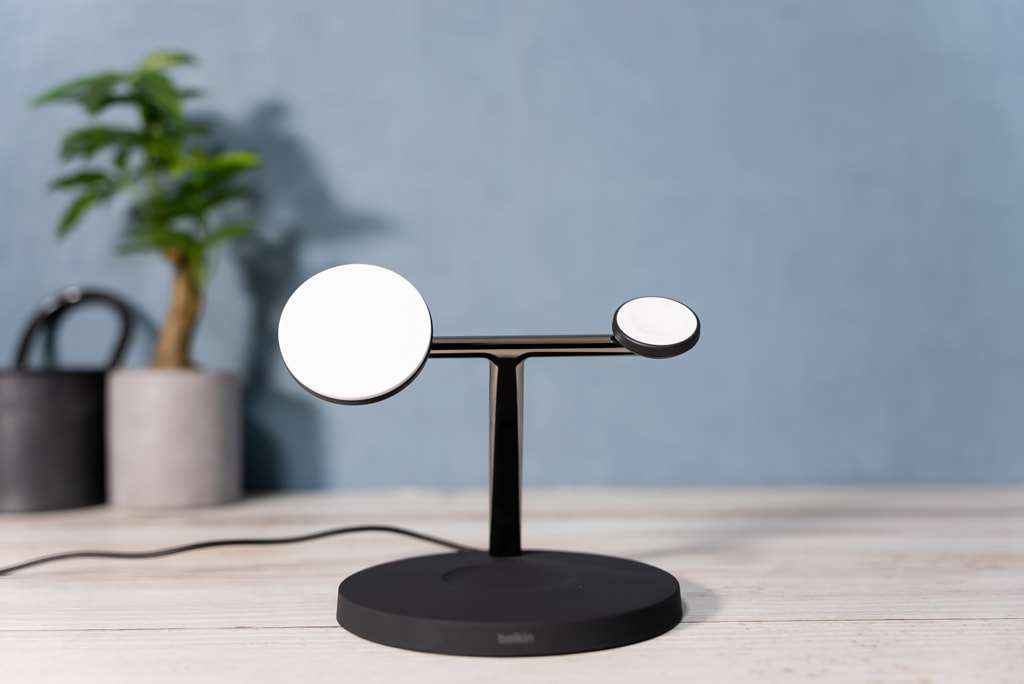 Belkin 3-in-1 Wireless Charger with MagSafeの外観