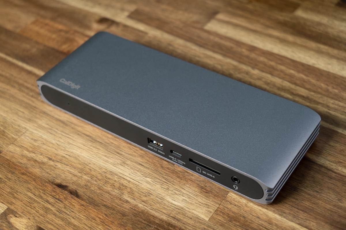 CalDigit USB-C Pro Dockの外観・デザイン