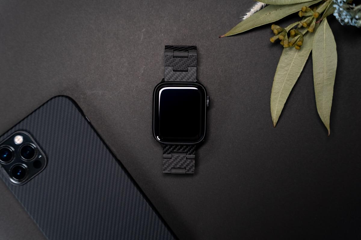 PITAKA カーボン製Apple Watchバンドレビューまとめ