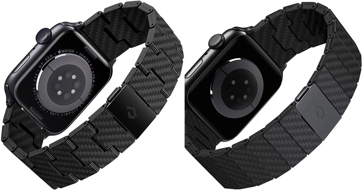 PITAKA カーボン製Apple Watchバンドのレトロとモダン