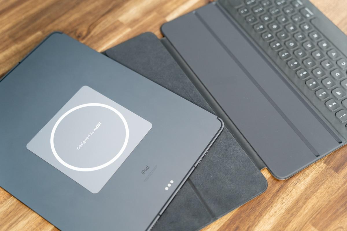 MOFT Snap-On タブレットスタンドはSmart Keyboard FolioでもOK