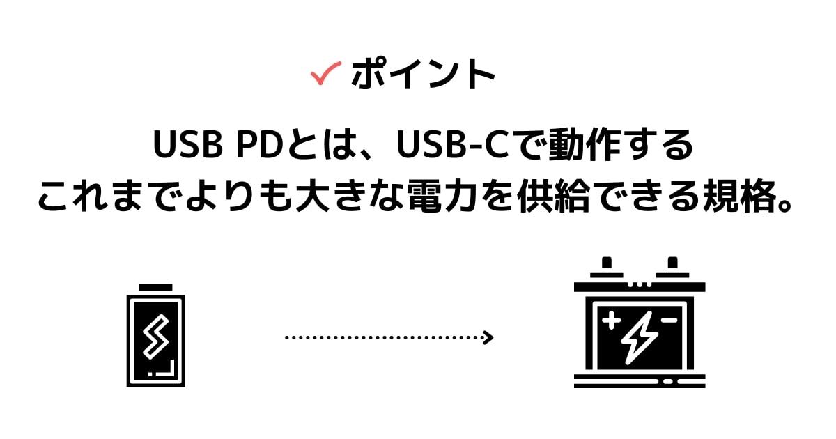 USB-PDとは?