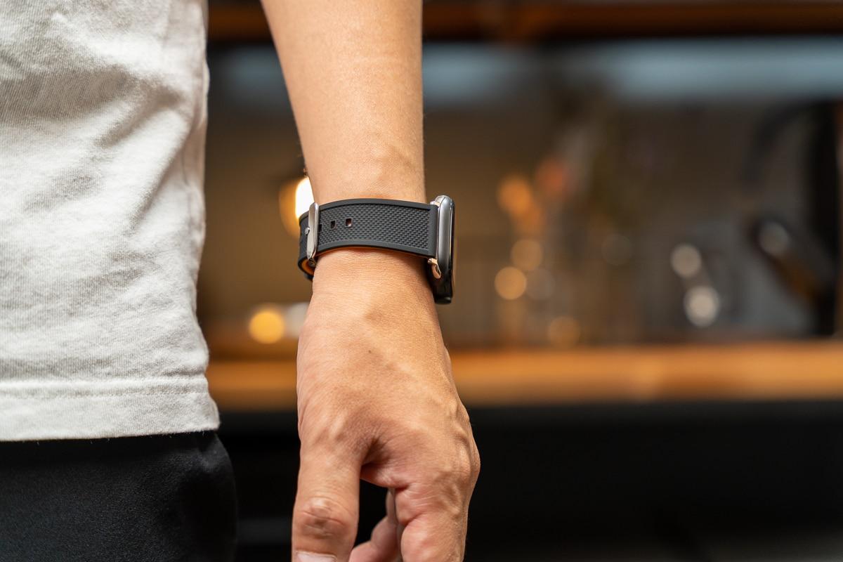 Fullmosa Apple Watch シリコン製バンド