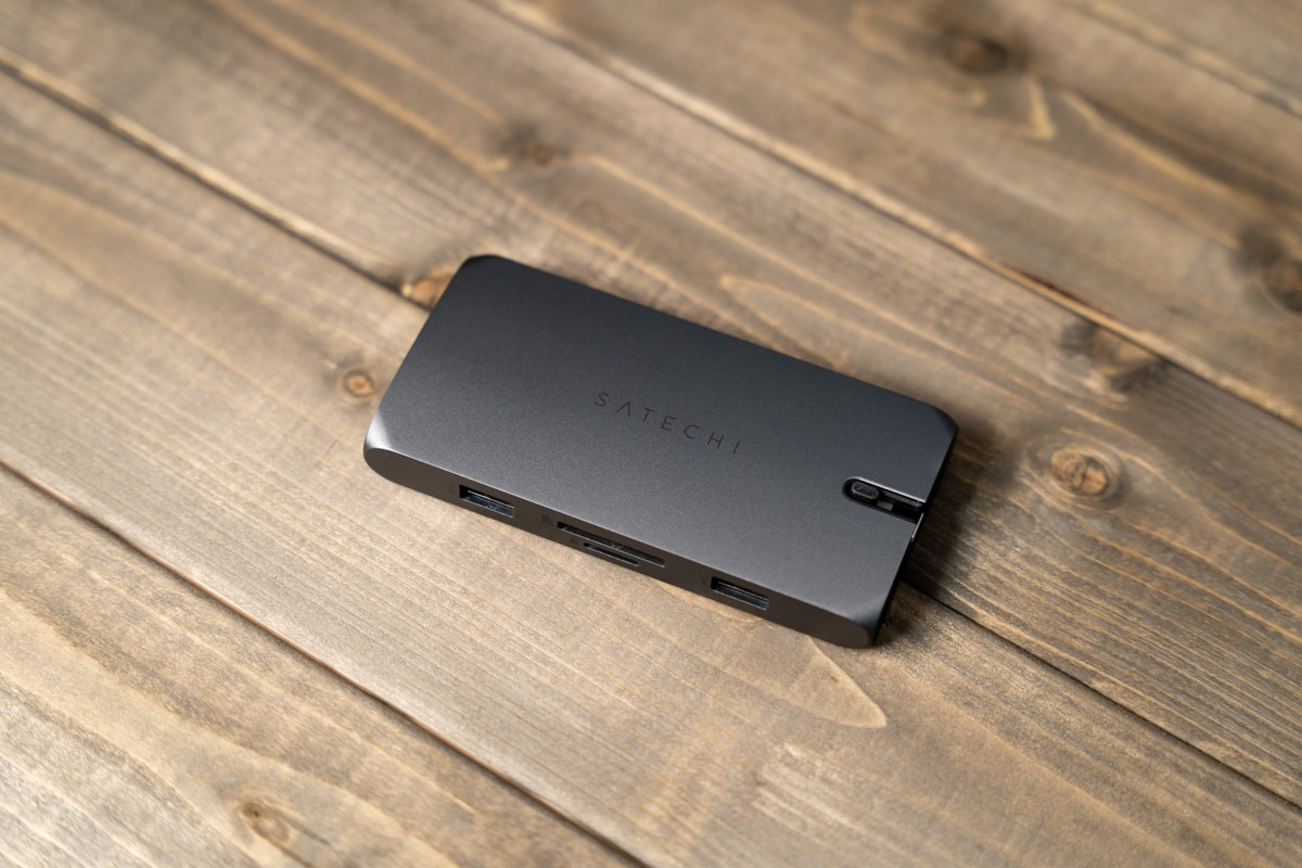 Satechi On-The-Go マルチ USB-Cハブ 9-in-1の特徴