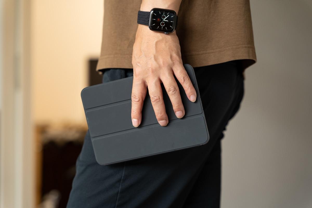 iPad mini 6を持って家中を持ち歩く