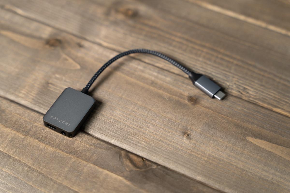 Satechi USB-C オーディオアダプタ