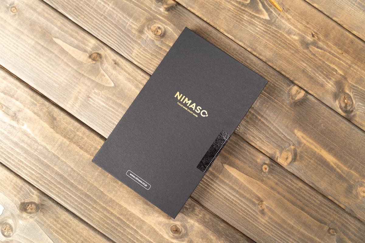 NIMASO iPhone 13 Pro用ガラスフィルム